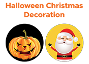 Halloween Christmas Decoration (M2)