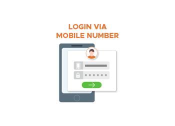 Login Via Mobile Number (M2)