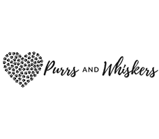 Purrs and Whiskers Logo