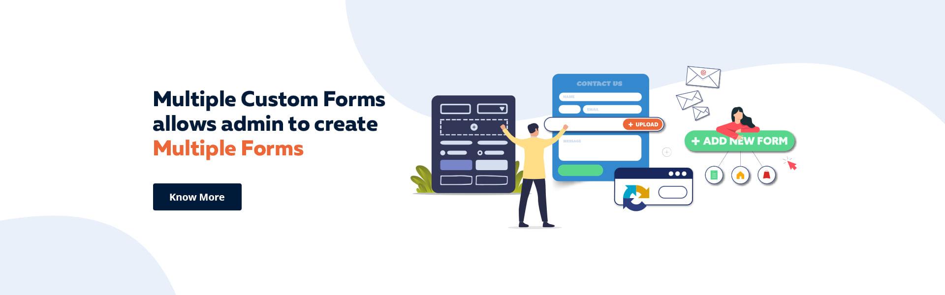 ZestardShop Banner Multiple Custom Forms